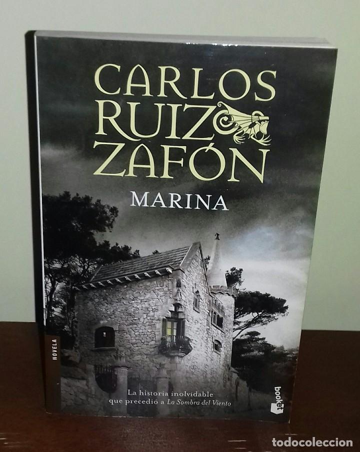 Marina carlos ruiz zafon comprar libros de terror misterio y polic aco en todocoleccion - Libreria segunda mano online ...