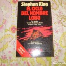 Libros de segunda mano: EL CICLO DEL HOMBRE LOBO . STEPHEN KING. Lote 99551191