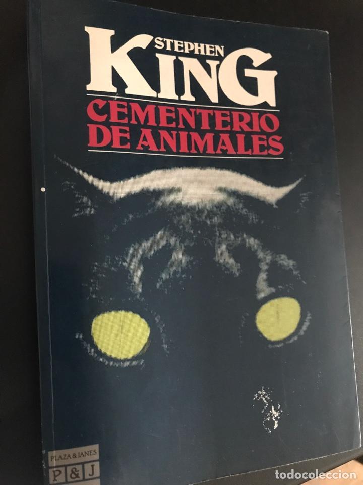 STEPHEN KING. CEMENTERIO DE ANIMALES. PRIMERA EDICION. 1984 (Libros de segunda mano (posteriores a 1936) - Literatura - Narrativa - Terror, Misterio y Policíaco)