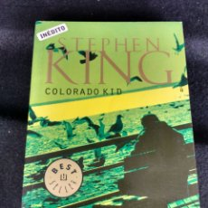 Livres d'occasion: COLORADO KID. STEPHEN KING. PRIMERA EDICIÓN. Lote 100369167