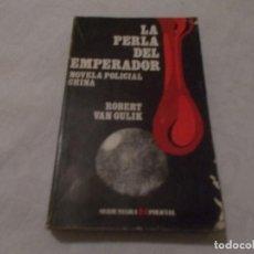 Libros de segunda mano - LA PERLA DEL EMPERADOR Robert Van Gulik - 101005443