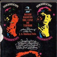 Libros de segunda mano: J. A. MOLINA FOIX : HORRORSCOPE - MITOS BÁSICOS DEL CINE DE TERROR 2 (NOSTROMO, 1974). Lote 101382887