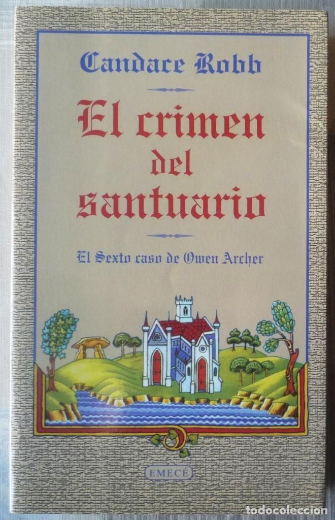 EL CRIMEN DEL SANTUARIO. DE CANDACE ROBB (Libros de segunda mano (posteriores a 1936) - Literatura - Narrativa - Terror, Misterio y Policíaco)