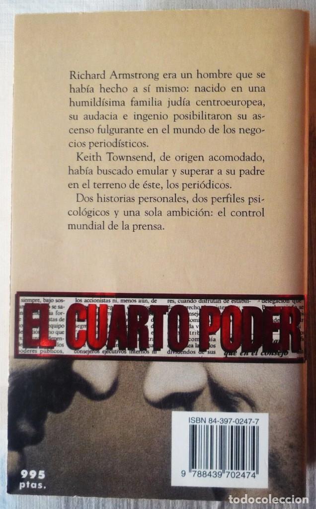 Libros de segunda mano: EL CUARTO PODER. DE JEFFREY ARCHER - Foto 2 - 101855135