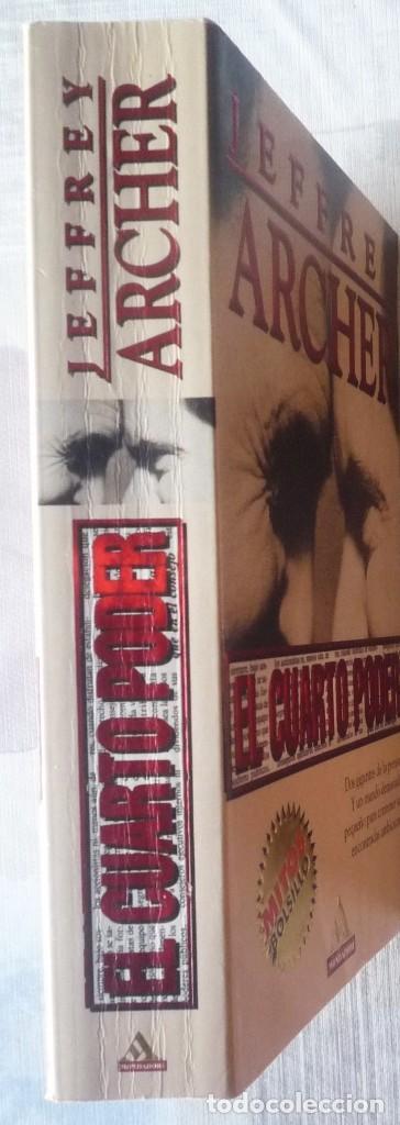 Libros de segunda mano: EL CUARTO PODER. DE JEFFREY ARCHER - Foto 3 - 101855135