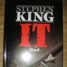 Libros de segunda mano: IT (STEPHEN KING) 2ª EDICIÓN. Lote 103633323