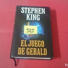 Libros de segunda mano: EL JUEGO DE GERALD STEPHEN KING TAPA DURA Y SOBRECUBIERTA ED. CIRCULO DE LECTORES 585. Lote 104006707