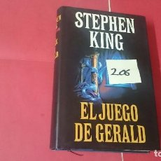 Libros de segunda mano: EL JUEGO DE GERALD STEPHEN KING TAPA DURA Y SOBRECUBIERTA 206. Lote 104007163