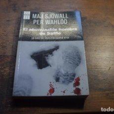 Libros de segunda mano: EL ABOMINABLE HOMBRE DE SAFFLE, MAJ SJOWALL, PER WHALOO, RBA, 2011. Lote 104348363