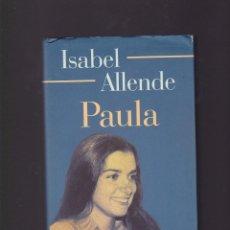 Libros de segunda mano: PAULA - ISABEL ALLENDE - CIRCULO LECTORES 1995. Lote 104880587