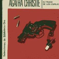 Libros de segunda mano: AGATHA CHRISTIE / EL TRUCO DE LOS ESPEJOS Nº 145 (EDITORIAL MOLINO 1958). Lote 105158583