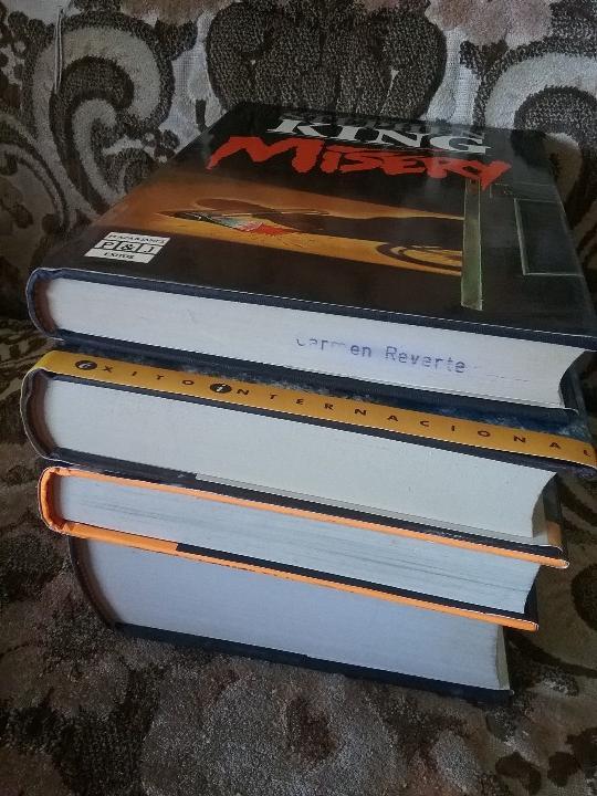 Libros de segunda mano: Lotazo cuatro primeras ediciones de Stephen King: Apocalipsis, Misery, Blaze y Dolores Claiborne - Foto 3 - 104455959