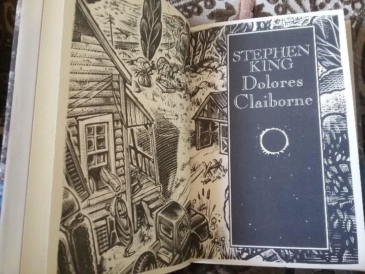 Libros de segunda mano: Lotazo cuatro primeras ediciones de Stephen King: Apocalipsis, Misery, Blaze y Dolores Claiborne - Foto 6 - 104455959