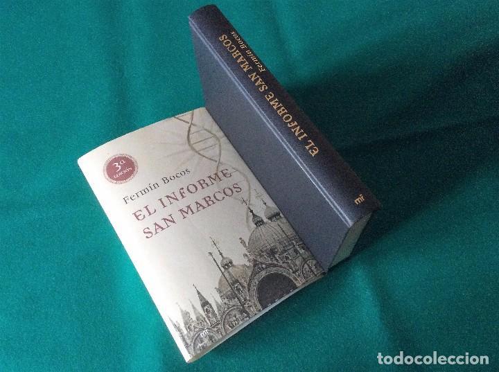 EL INFORME SAN MARCOS - FERMÍN BOCOS - M.R. EDICIONES - AÑO 2009 3ª EDICIÓN (Libros de segunda mano (posteriores a 1936) - Literatura - Narrativa - Terror, Misterio y Policíaco)