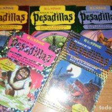 Libros de segunda mano: LOTE LIBROJUEGOS EN BUSCA DE TUS PESADILLAS 1 2 3 4 5 LIBROJUEGO EDICIONES B EN RUSTICA. Lote 106050923