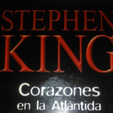 Libros de segunda mano: CORAZONES EN LA ATLÁNTIDA. STEPHEN KING. RBA 2003. CARTONÉ. PÁGINAS 540. PÁGINAS 900 GR.. Lote 106051176