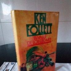 Libros de segunda mano: 96-EL VALLE DE LOS LEONES, KEN FOLLET, 1987. Lote 107464631