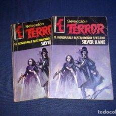 Libros de segunda mano: SELECCIÓN TERROR 16 EL HONORABLE MATRIMONIO SPECTRO SILVER KANE BOLSILIBROS BRUGUERA 1973 . Lote 108832655