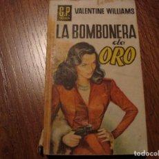 Libros de segunda mano: G.P. POLICIACA VALENTINE WILLIAMS. Lote 108869207