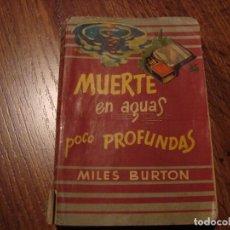 Libros de segunda mano: BIBLIOTECA ORO DE BOLSILLO N. 55 MILES BURTON. Lote 108870731