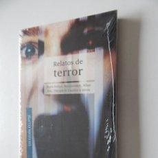 Libros de segunda mano - Relatos de terror - Bram Stoker, Maupassant, Allan Poe, Théophile Gautier y otros - Libro precintado - 95537867