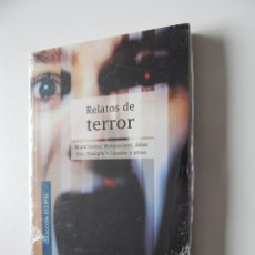 Libros de segunda mano - Relatos de terror - Bram Stoker, Maupassant, Allan Poe, Théophile Gautier y otros - Libro precintado - 95931967