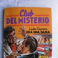 Libros de segunda mano: CLUB DEL MISTERIO Nº 19. ERA UNA DAMA. Lote 109070995