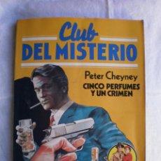 Libros de segunda mano: CLUB DEL MISTERIO Nº 49. CINCO PERFUMES Y UN CRIMEN. Lote 109074639