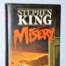 Libros de segunda mano: MISERY, POR STEPHEN KING. Lote 109097787