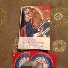 Libros de segunda mano: VIDA Y VISIONES DE HILDEGARD VON BINGEN BIBLIOTECA MEDIEVAL SIRUELA DESCATALOGADO CON CD. Lote 155705289