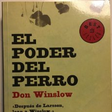 Libros de segunda mano: EL PODER DEL PERRO DON WINSLOW. Lote 110358235