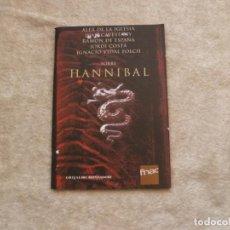 Libros de segunda mano: SOBRE HANNIBAL. EDICIÓN EXCLUSIVA FNAC. ALEX DE LA IGLESIA, RAMÓN DE ESPAÑA, JORDI COSTA.... Lote 110408595