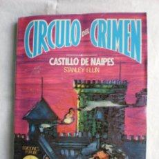 Libros de segunda mano: CIRCULO DEL CRIMEN Nº 91. CASTILLO DE NAIPES. Lote 110696507