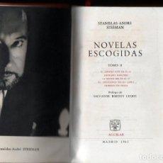Libros de segunda mano: STEEMAN : NOVELAS ESCOGIDAS II (AGUILAR, 1962). Lote 110897103