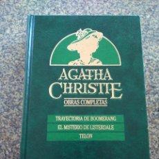 Libros de segunda mano: AGATHA CHRISTIE -- OBRAS COMPLETAS - TOMO 3 -- EDICIONES ORBIS - 1987 --. Lote 111136327