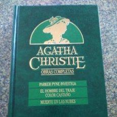 Libros de segunda mano: AGATHA CHRISTIE -- OBRAS COMPLETAS - TOMO 4 -- EDICIONES ORBIS - 1987 --. Lote 111137387