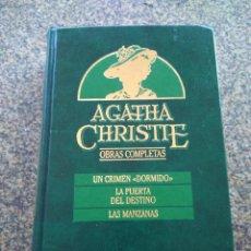 Libros de segunda mano: AGATHA CHRISTIE -- OBRAS COMPLETAS - TOMO 7 -- EDICIONES ORBIS - 1987 --. Lote 111138063