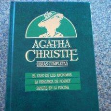 Libros de segunda mano: AGATHA CHRISTIE -- OBRAS COMPLETAS - TOMO 20 -- EDICIONES ORBIS - 1987 --. Lote 111138607