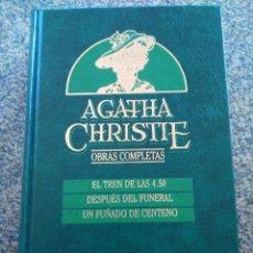 Libros de segunda mano: AGATHA CHRISTIE -- OBRAS COMPLETAS - TOMO 18 -- EDICIONES ORBIS - 1987 --. Lote 111139155