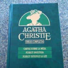 Libros de segunda mano: AGATHA CHRISTIE -- OBRAS COMPLETAS - TOMO 16 -- EDICIONES ORBIS - 1987 --. Lote 111140215