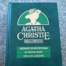 Libros de segunda mano: AGATHA CHRISTIE -- OBRAS COMPLETAS - TOMO 4 -- EDICIONES ORBIS - 1987 --. Lote 111140731