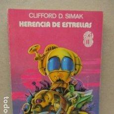 Libros de segunda mano: MARTINEZ ROCA SUPER FICCION CIENCIA FICCION HERENCIA DE ESTRELLAS SIMAK. Lote 112685759