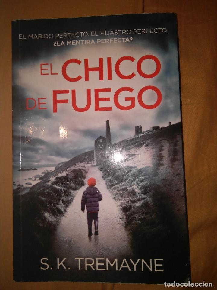 EL CHICO DE FUEGO S. K. TREMANE TAMAÑO GRANDE (Libros de segunda mano (posteriores a 1936) - Literatura - Narrativa - Terror, Misterio y Policíaco)