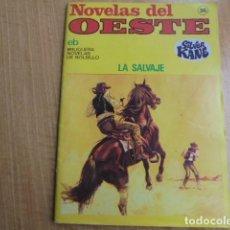 Libros de segunda mano: SILVER KANE - LA SALVAJE - NOVELAS DEL OESTE BRUGUERA 36. Lote 113126339