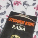 Libros de segunda mano: RABIA, STEPHEN KING MARTÍNEZ ROCA, PRIMERA EDICIÓN. Lote 113841127