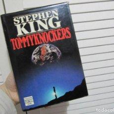 Libros de segunda mano: STEPHEN KING TOMMYKNOCKERS PRIMERA EDICION 1989. Lote 114376519