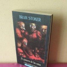 Libros de segunda mano: BRAM STOKER - EL ENTIERRO DE LAS RATAS Y OTROS CUENTOS DE HORROR - VALDEMAR 1991. Lote 115022863