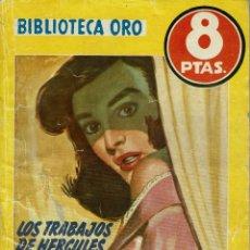 Libros de segunda mano: LOS TRABAJOS DE HÉRCULES, POR AGATHA CHRISTIE. AÑO 1956 (1.3). Lote 115306283