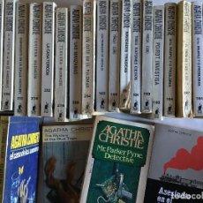 Libros de segunda mano: LOTAZO DE NOVELAS DE AGATHA CHRISTIE 38 EJEMPLARES - CASI TODOS DE LA EDITORIAL MOLINO. Lote 115422575