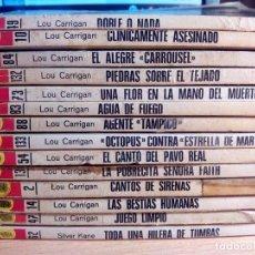 Libros de segunda mano: LOTE DE NOVELAS BOLSILIBROS. LA HUELLA. BRUGUERA. 14 EJEMPLARES.. Lote 115565731